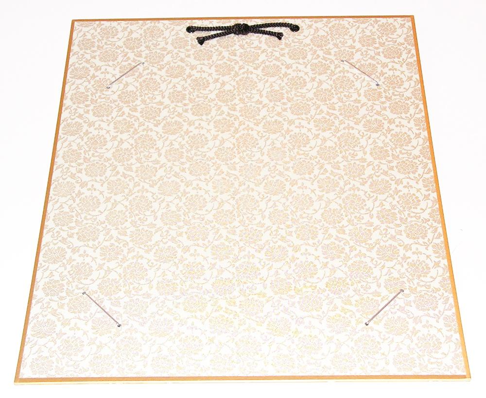HrahmS-weiss   Hänge-Bilderrahmen für Shikishi-Papier aus hartem
