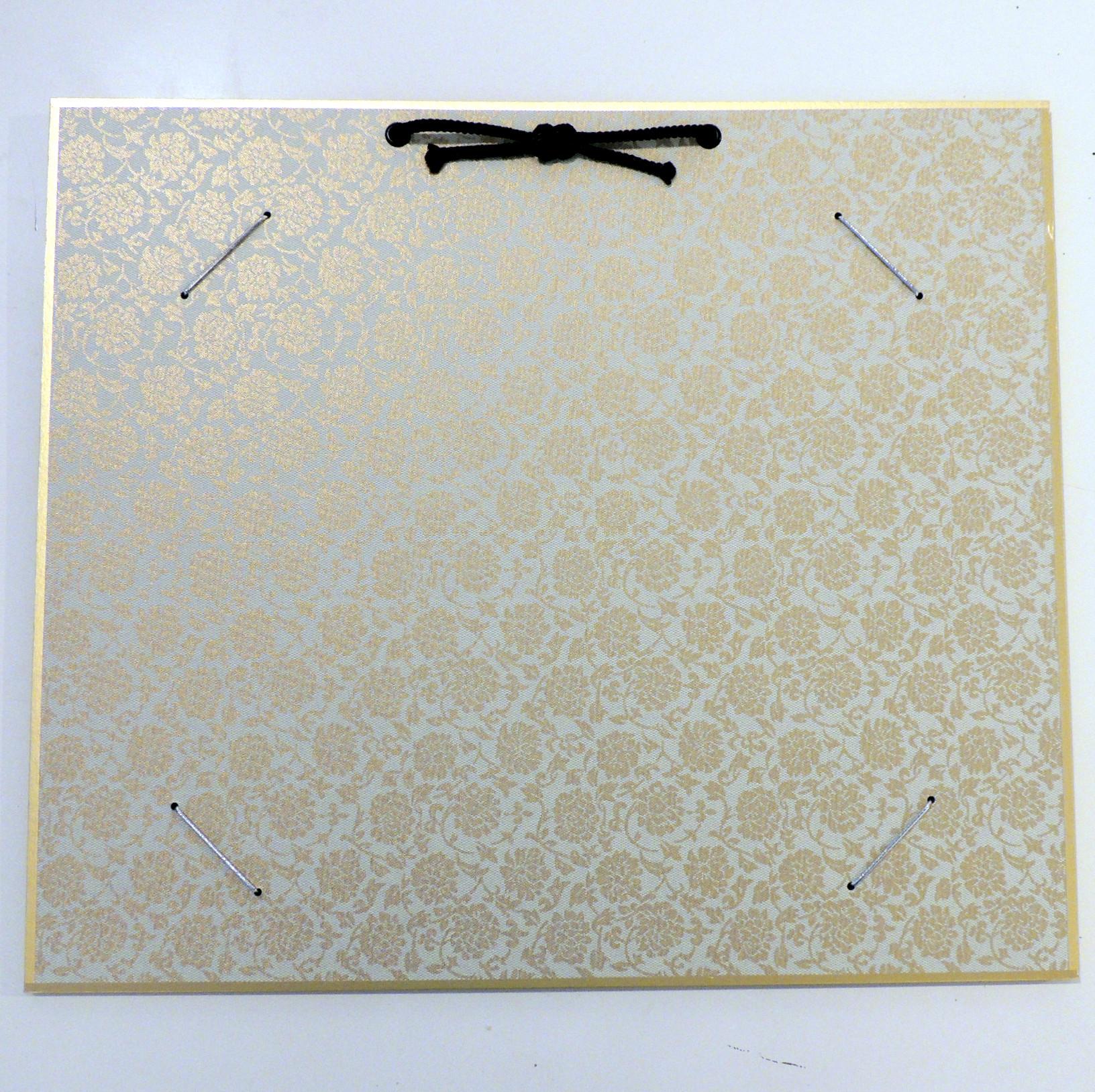 HrahmSQ-weiss   Hänge-Bilderrahmen für Shikishi-Papier aus hartem